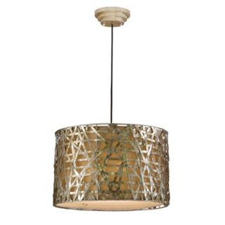 Alita Collection Champagne Hanging Pendant Chandelier   #55700