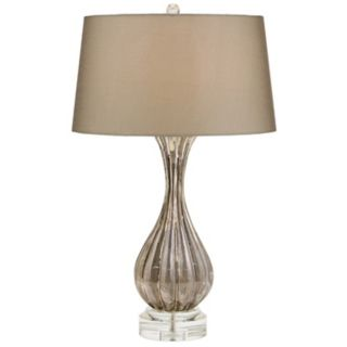 Cagney Shimmer Glass Table Lamp   #F1714