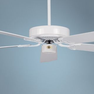 "42"" Concord California Home White Ceiling Fan   #Y3969"
