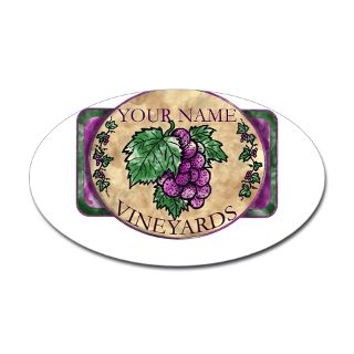 Alcohol Gifts  Alcohol Bumper Stickers  Your Vineyard Decal