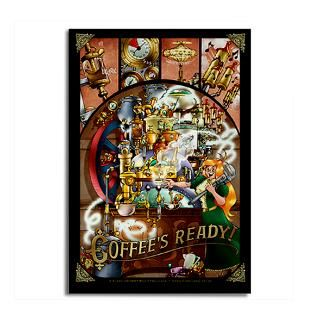 coffee engine rectangle magnet $ 4 99 qty availability product number