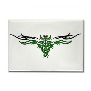 tribal thistle rectangle magnet $ 5 00 qty availability product number