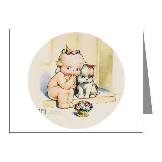 Gifts  Baby Note Cards  KEWPIE & DOODLE DOG Note Cards (Pk of 10