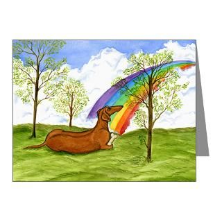 Gifts  Art Note Cards  Rainbow Bridge Poem Note Cards (Pk of 20