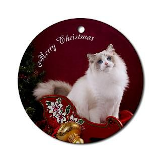 Ragdoll Cat Christmas Christmas Ornaments  Unique Designs