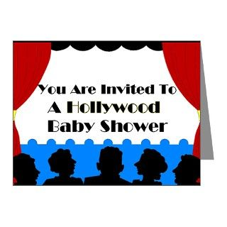 Gifts  Baby Note Cards  Hollywood Baby Shower Invitations (Pk of 20