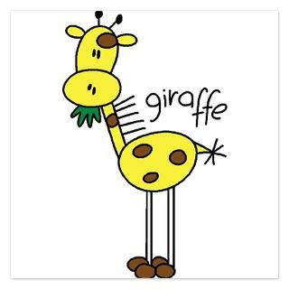 Giraffe Invitations  Giraffe Invitation Templates  Personalize