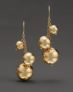 Roberto Coin 18 Kt. Yellow Gold Pallini Drop Earrings