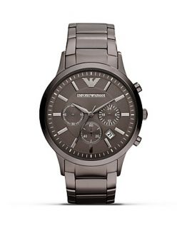 Emporio Armani 316 Stainless Steel Bracelet Watch, 43mm