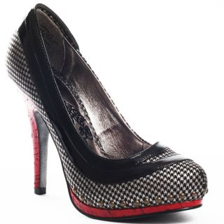 Uptown Girl   Black/Red, Naughty Monkey, $84.99