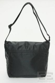 Kate Spade Black Nylon Messenger Bag