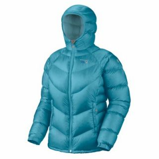 Mountain Hardwear Kelvinator Down Jacket Oasis Blue Womens Sz M