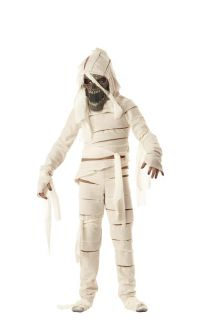 Scary Pharaoh King Tut Mummy Curse Child Kids Costume
