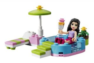 New Lego Friends Emma s Splash Pool 3931 673419165723