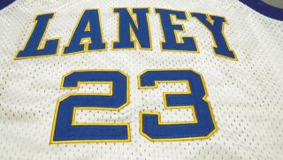 New Michael Jordan Laney High School White Jersey XL Size