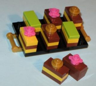 LEGO Custom Food Pastry Bakery + Lime Chocolate Cake 10216 Friends
