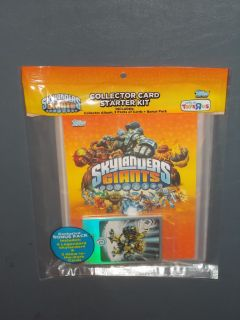 Skylanders Giants COLLECTOR CARD STARTER KIT Album Bonus Trading Cards