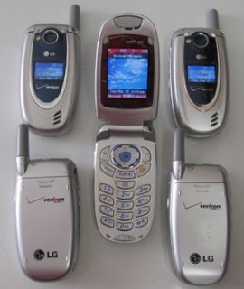 LG VX5200 Verizon Cell Phones Lot Speaker Home Car Chargers