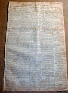 of 1812 newspaper BATTLE of LUNDYS LANE Niagara Falls ONTARIO Canada