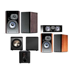 Polk Audio LSI 9 Home Theater System Black