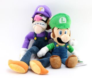 New Super Mario Plush Doll Toy Waluigi Luigi