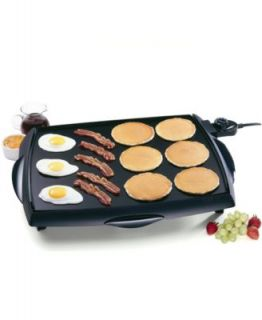 Presto 07030 Griddle, Jumbo Cool Touch   Electrics   Kitchen