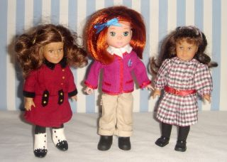 Madeline Doll Poseable Mini American Girl Doll Friend