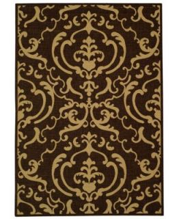 MANUFACTURERS CLOSEOUT Safavieh Rugs, Courtyard Indoor/Outdoor