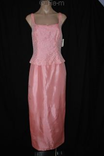 Marie St Claire Beaded Formal Dress Gown Sz 8 $230