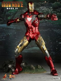Hot Toys Iron Man 2 Mark VI 6 12 Figure in Stock
