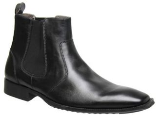 Julius Marlow Longhaul Mens Shoes Formal Boots Dress Black Brown Oily