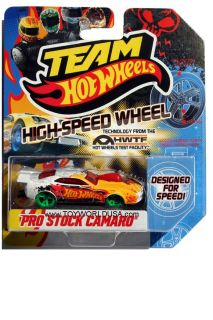 2012 Team Hot Wheels High Speed Wheel Pro Stock Camaro with Green