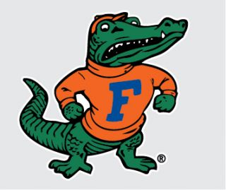 Florida Gators Albert Mascot 6 Vinyl Decal Car Truck Sticker iPhone