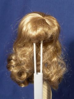 Maryanne Doll Wig Size 8 9 Blonde Long Curls Antique Wee 3 Multiple
