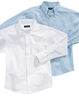 Kids Shirt, Boys Long Sleeved Oxford Shirt   Kids Boys 8 20