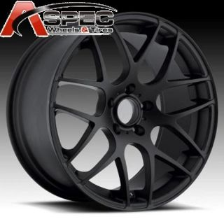 19 Staggered Euro Tek UO02 P40 5x120 Wheel Fit BMW 525 528 530 540