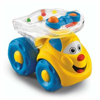 New Fisher Price Brilliant Basics Poppity Pop Dump Truck Baby Fun Toys