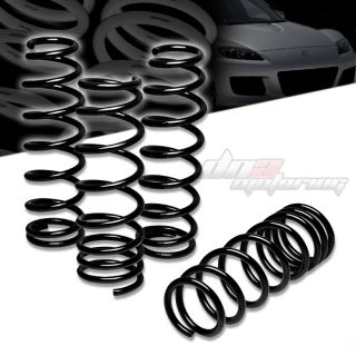 Mazda RX8 RX 8 1 75Drop Suspension Black lowering Spring Springs 250f