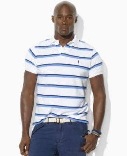 Polo Ralph Lauren Big and Tall Shirt, Color Blocked Polo Shirt   Mens