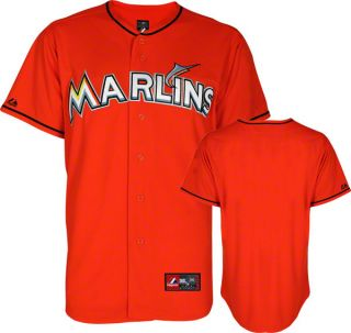 Miami Marlins Youth Orange Alternate MLB Replica Jersey