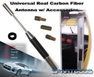 152mm Antenna Universal Fit 100 Real Carbon Fiber New