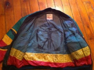 Awesome Michael Hoban Africa Leather Jacket Mens Medium