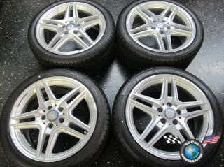13 Mercedes E350 E550 Factory AMG 18 Wheels Tires Rims OEM W212 W211