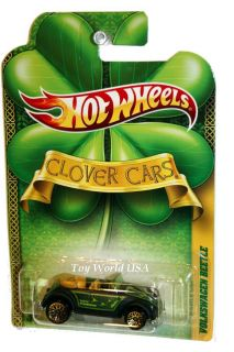 2011 Hot Wheels Clover Cars Volkswagen Beetle
