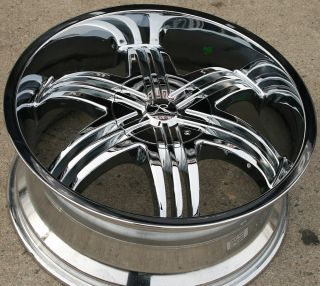 Karizzma Sparus KR04 20 Chrome Rims Wheels Chevrolet Trailblazer