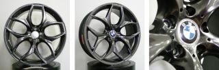 20 Staggered Black BMW x5 x6 Range Rover Wheels Rims