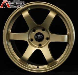 Rota Grid 17x9 5x114 3 42 73 1 Hub Gold Rims Wheels