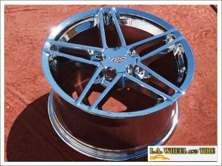 Chevrolet Corvette Z06 18 19 Chrome Wheels Rims Exchange 5090