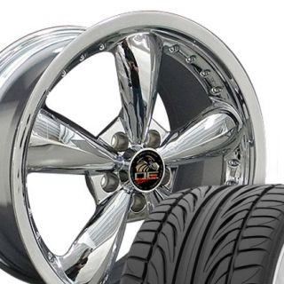 Bullitt Bullet Wheels Set of 4 Rims Tires Fit Mustang® GT 05 Up