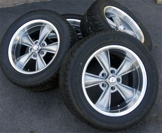 17x8 MDC CLASSIC WHEELS RIMS & 255/50 17 TIRES CORVETTE C3 1970 1971